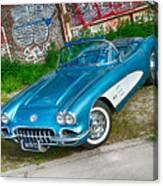 1959 Chevrolet Corvette Canvas Print