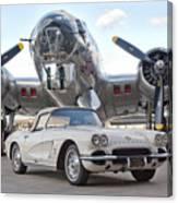 1962 Chevrolet Corvette Canvas Print