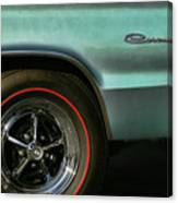 1966 Dodge Coronet 500 Canvas Print