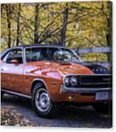 1970 Dodge Challenger Rt  Canvas Print