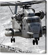 A Ch-53e Super Stallion Helicopter Canvas Print