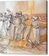 A Netherlands Handscroll Canvas Print