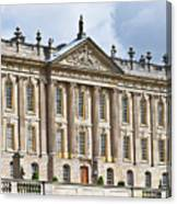 A View Of Chatsworth House, Great Britain Canvas Print
