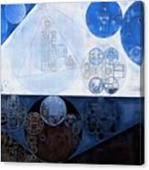 Abstract Painting - Lochmara Canvas Print
