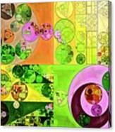 Abstract Painting - Turtle Green Canvas Print