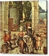 Adoration Fragment  Canvas Print