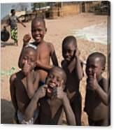 Africa's Children Canvas Print