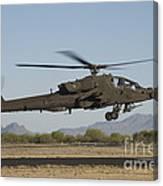 Ah-64d Apache Longbow Lifts Canvas Print
