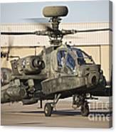 Ah-64d Apache Longbow Taxiing Canvas Print