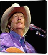Alan Jackson Canvas Print