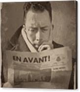 Albert Camus 1 Canvas Print