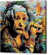 Albert Einstein.. - By Prar Canvas Print