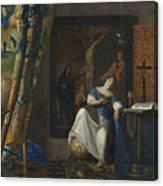 Allegory Of The Catholic Faith Canvas Print