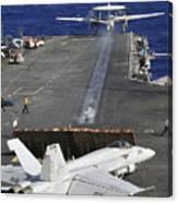 An E-2c Hawkeye Launches Canvas Print