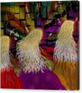 Angels To And Fro Canvas Print