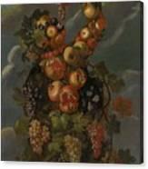 Anthropomorphic Allegory Of Autumn Canvas Print