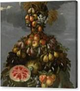 Anthropomorphic Allegory Of Summer Canvas Print
