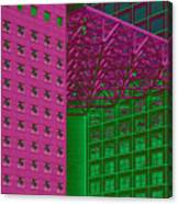 Architectural Abstract Canvas Print