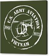 Army Aviation Vietnam Canvas Print