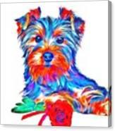 Art Dogportrait Canvas Print