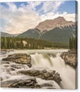 Athabasca Falls Jasper National Park Canada Canvas Print