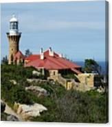 Australia - Path To Barrenjoey Lighthouse Canvas Print