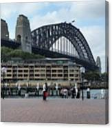 Australia - Sydney Harbour Bridge On Circular Quay Canvas Print