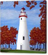 Autumn At Marblehead Canvas Print