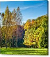 Autumn Colors Of Nature Canvas Print