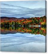 Autumn In The White Mountains Of New Hampshire Canvas Print