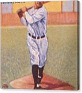 Babe Ruth (1895-1948) Canvas Print