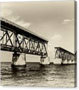Bahia Honda Bridge Canvas Print