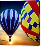2 Balloons Canvas Print