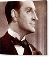 Basil Rathbone, Actor Canvas Print