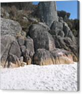 Bay Of Fires. Tasmania Canvas Print