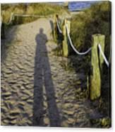 Beach Entry Canvas Print