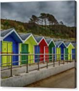 Beach Huts 1 Canvas Print