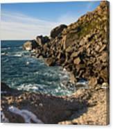 Beach In Sintra Natural Park Canvas Print