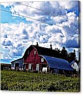 Beautiful Barn Canvas Print