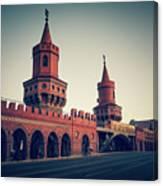 Berlin - Oberbaum Bridge Canvas Print