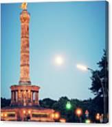 Berlin - Victory Column Canvas Print