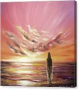 Beyond The Sunset Canvas Print