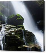 Big Bradley Falls North Carolina Canvas Print