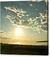 Birch Bay Canvas Print