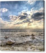 Birling Gap Angel Light Canvas Print