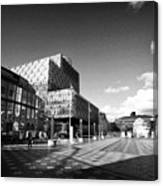 Birmingham City Library In Centenary Square Uk Canvas Print