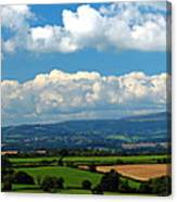 Black Mountains And Vale Of Usk Canvas Print