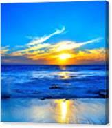 Blue Heaven #3 Canvas Print