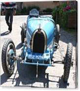 Blue Oldtimer Canvas Print