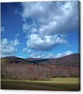 Blue Ridge Foothills Canvas Print